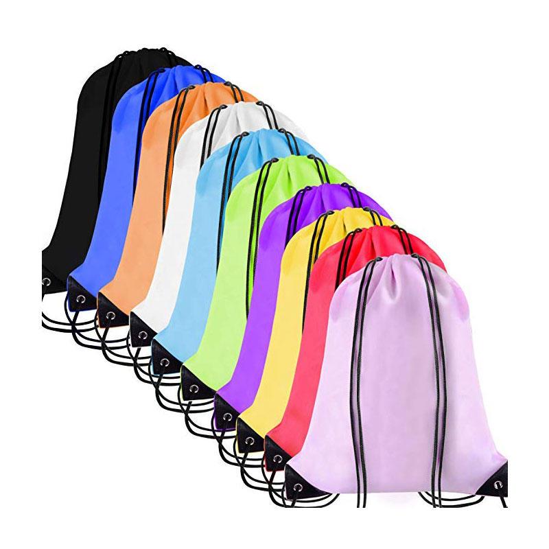 Cinch Sack Drawstring Backpack String Sinch Tote Nap Bag for Kids Gym