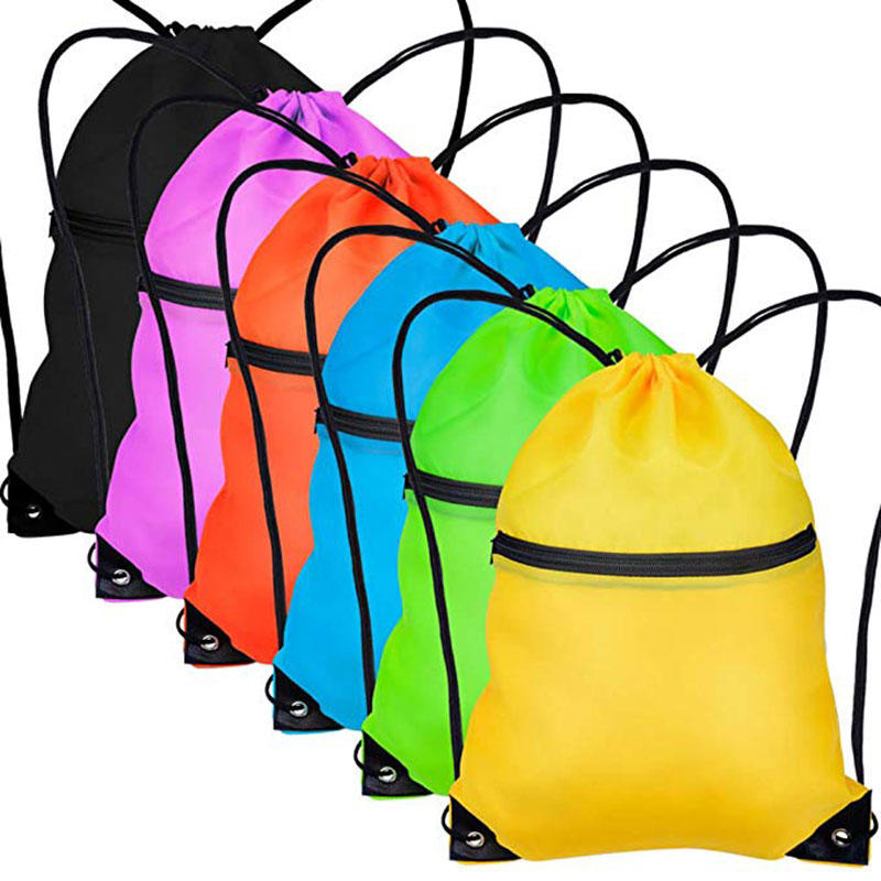 Cinch Sack Drawstring  Pouch Backpack String Sinch Tote Nap Bag for Kids