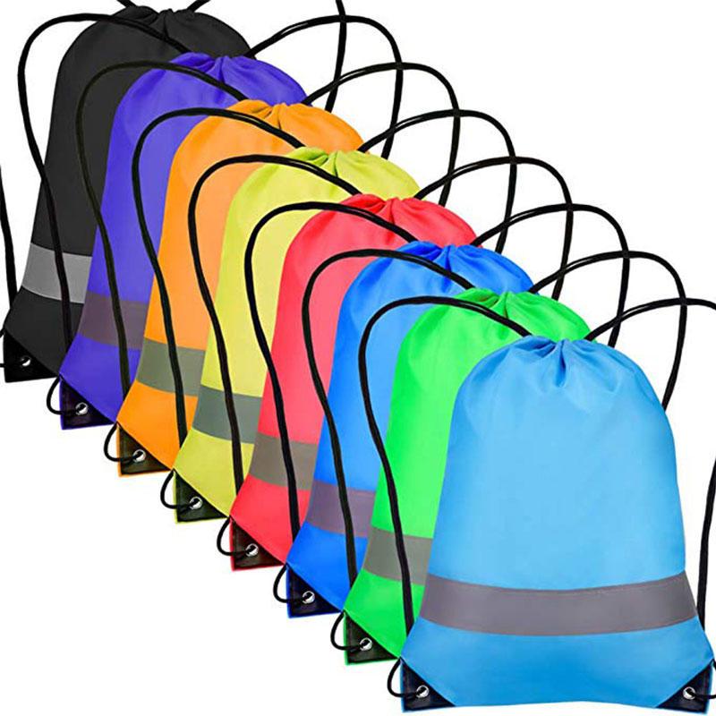 Cinch Sack Drawstring Backpack String Sinch Tote Nap Bag for Kids