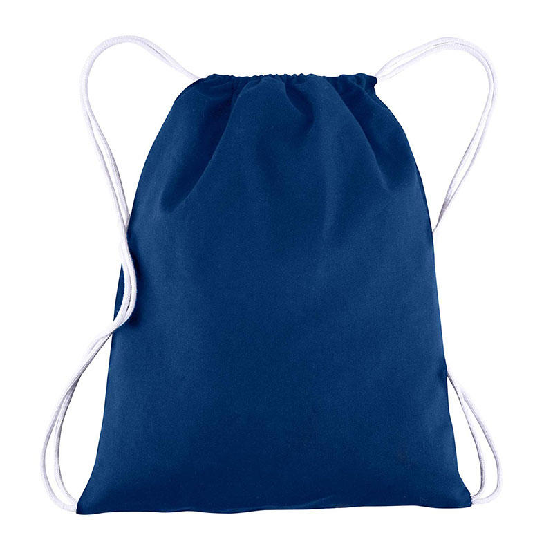 BagzDepot 100% COTTON Budget Friendly Sport Drawstring Bag Cinch Packs