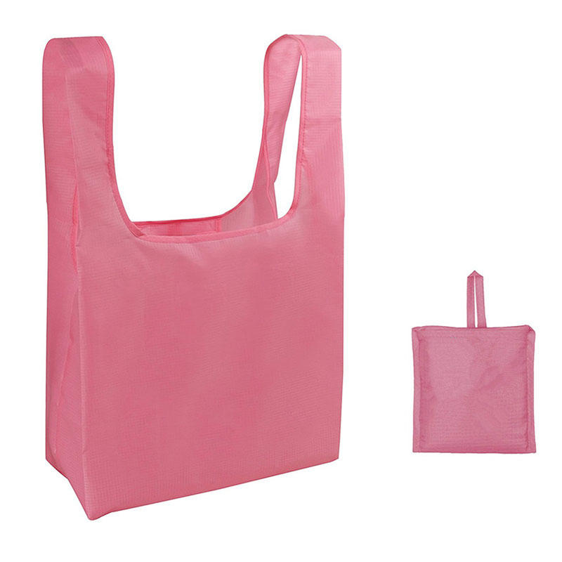 RIPSTOP Polyester Long Handles Tote Shopping Bags