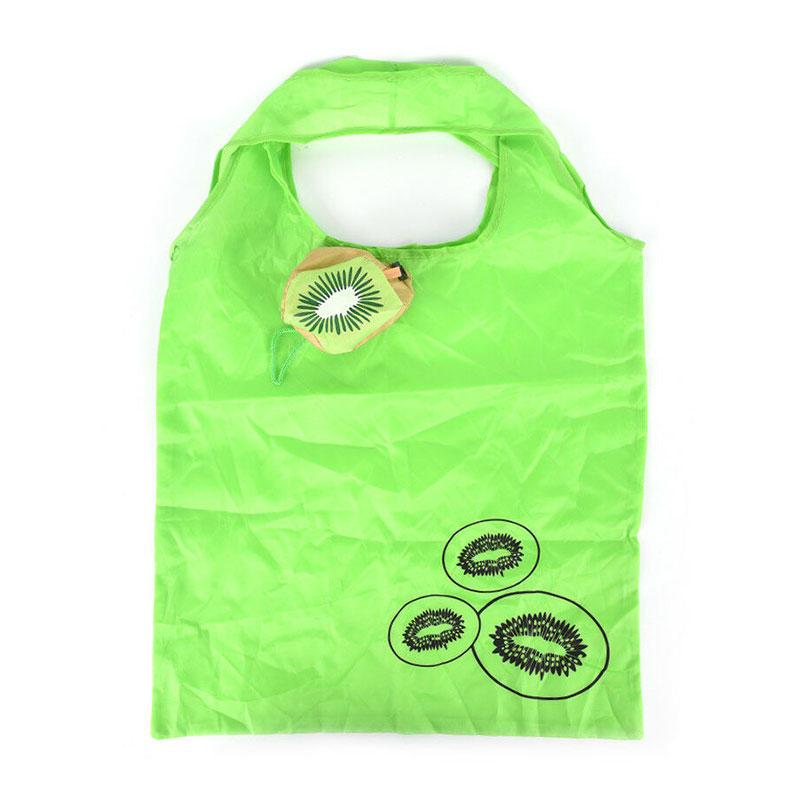 Reusable 190T Polyester Fruit Shape Folding Shopping Bag