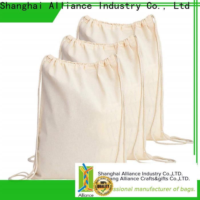 Alliance excellent drawstring bags design