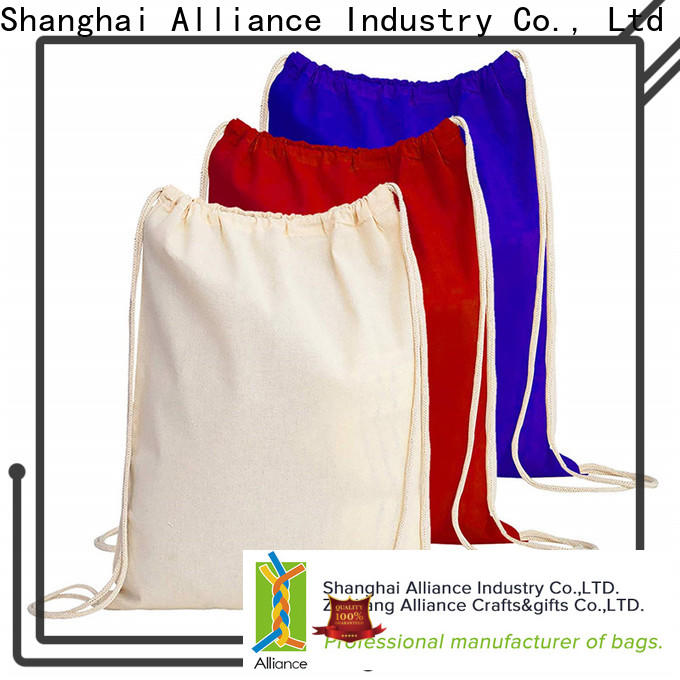 Alliance drawstring pouch inquire now for student