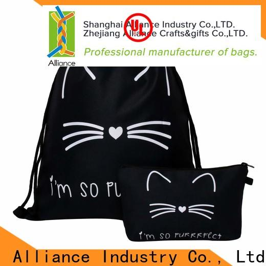 Alliance drawstring pouch with good price for sport