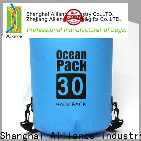 Alliance durable dry bag backpack manufacturer for camping