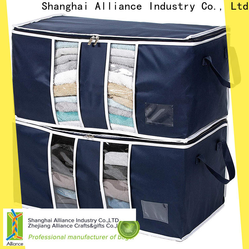 Alliance clothes storage bags factory for shoes