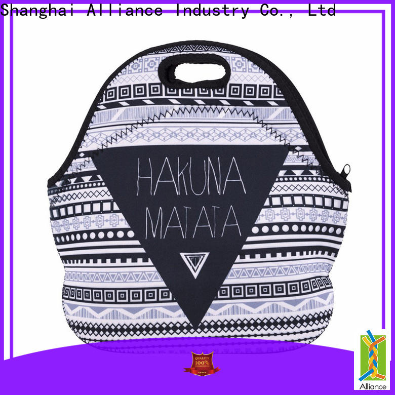 Alliance reusable lunch bags for kids customized for food