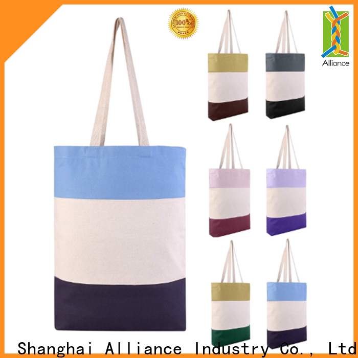 Alliance hot selling personalized tote bags manufacturer for grocery