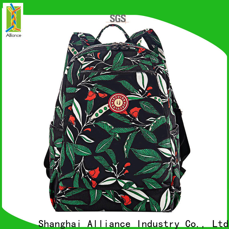 Alliance hot selling diaper bag backpack customized for girls
