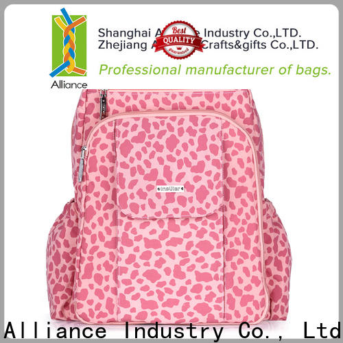 Alliance practical baby diaper bags manufacturer for wet cloth