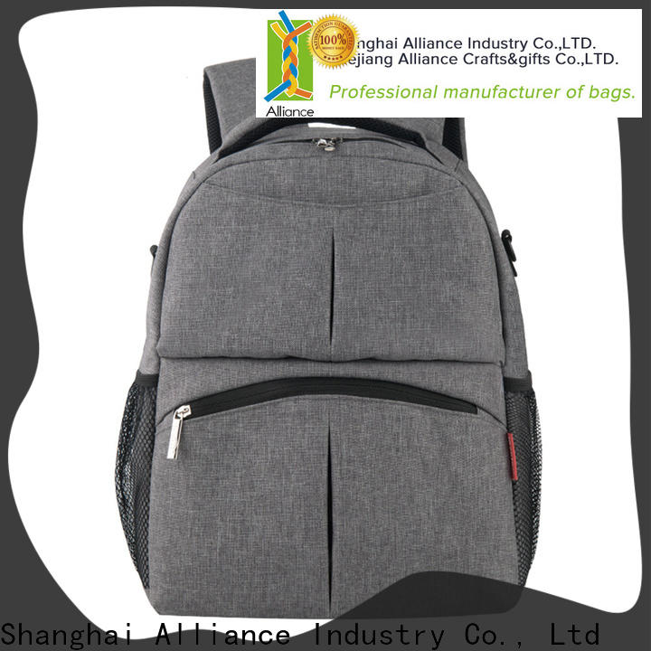 Alliance baby diaper bags customized for outdoor