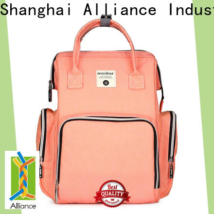 Alliance reliable diaper bag backpack series for girls