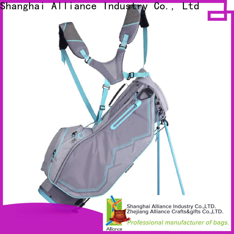 Alliance practical golf stand bags customized for man