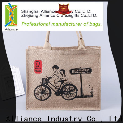Alliance multi purpose personalized tote bags from China for women