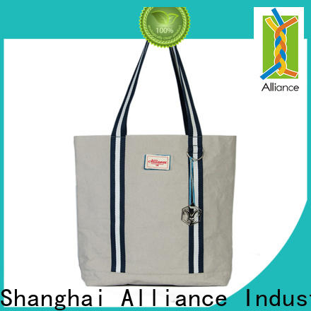Alliance large cotton bag from China for shopping