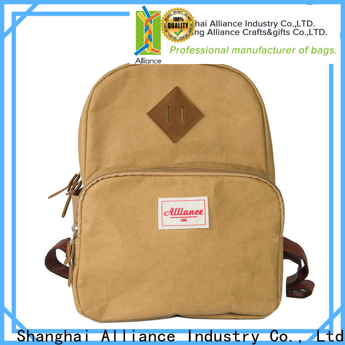 Alliance brown backpacks for men design for fishing