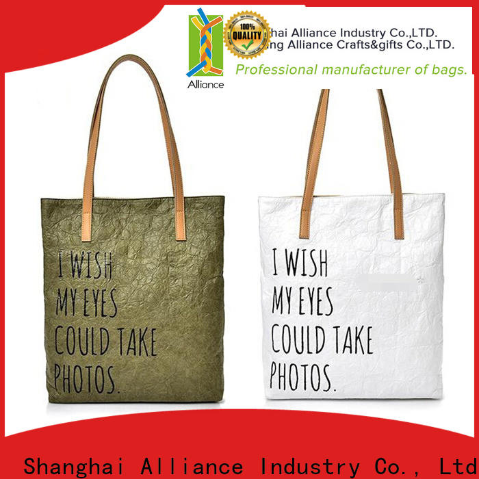 Alliance reusable tote bags from China for books