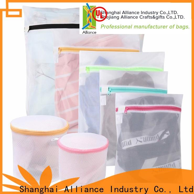 Alliance mesh laundry bags personalized for shopping