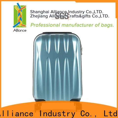 certificated polycarbonate luggage wholesale for tirp