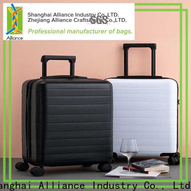 Alliance sturdy hard shell luggage factory price for vacation
