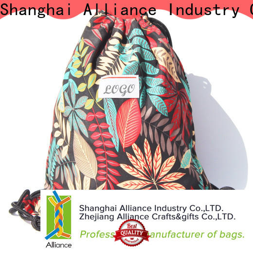 Alliance drawstring pouch factory for children