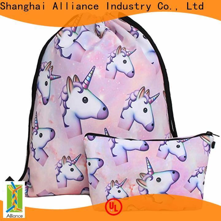 approved drawstring backpack design for children