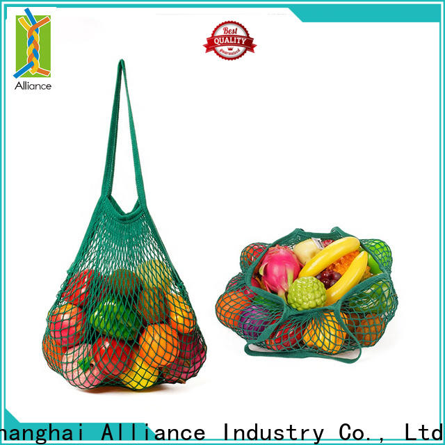 Alliance foldable mesh bags personalized for outdoor