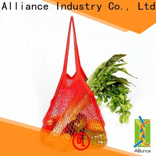 Alliance sturdy mesh laundry bags personalized for outdoor