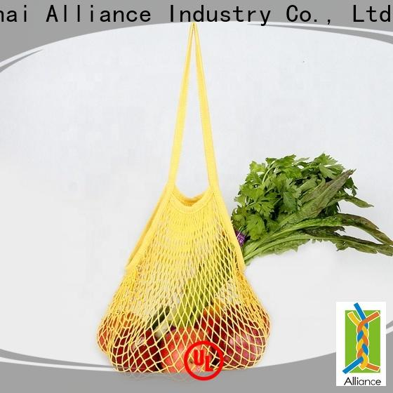 certificated mesh bags supplier for beach