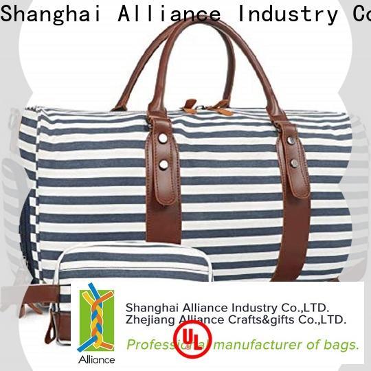 Alliance carry on duffel bag manufacturer for weekender