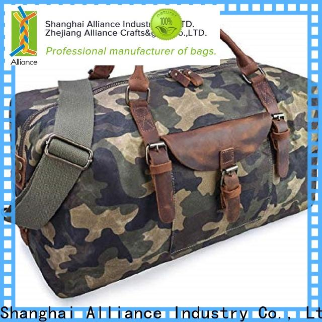 reliable travel duffel bags manufacturer for tirp