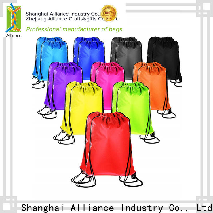 excellent cotton drawstring bags factory for girls