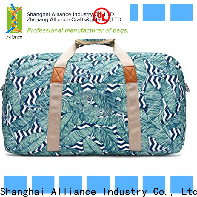 Alliance quality travel duffel bags manufacturer for weekender