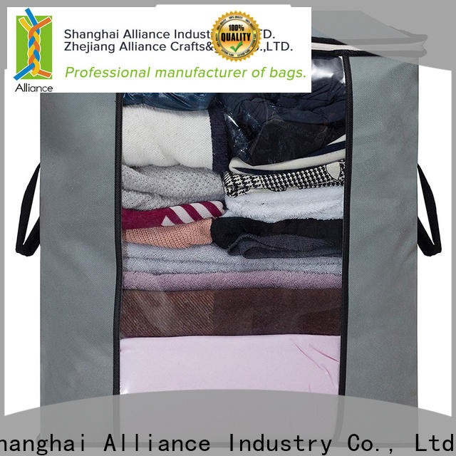Alliance waterproof clothes storage bags with good price for clothes