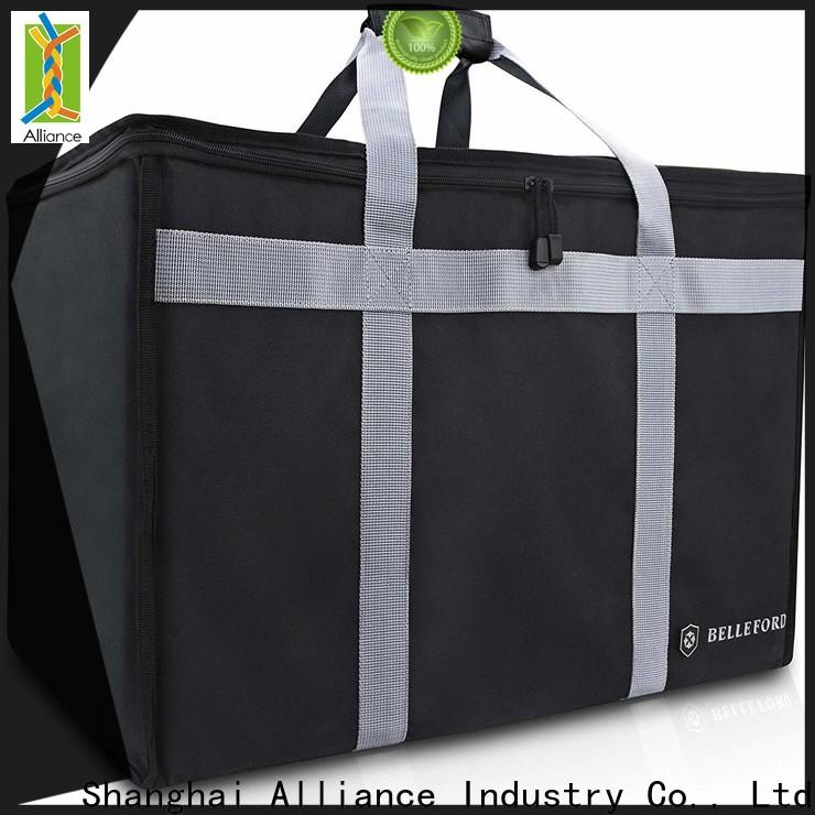 Alliance pizza bag customized for store