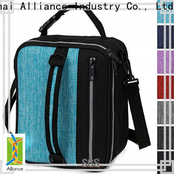 Alliance adjustable lunch box cooler bag with good price for children
