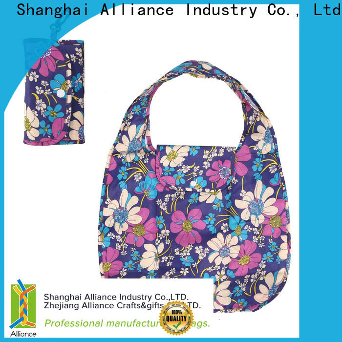 Alliance folding shopping bags factory for shopper