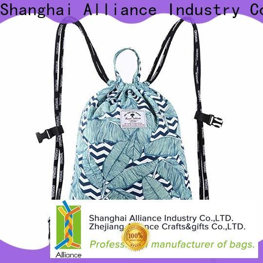 reusable drawstring bags design for girls