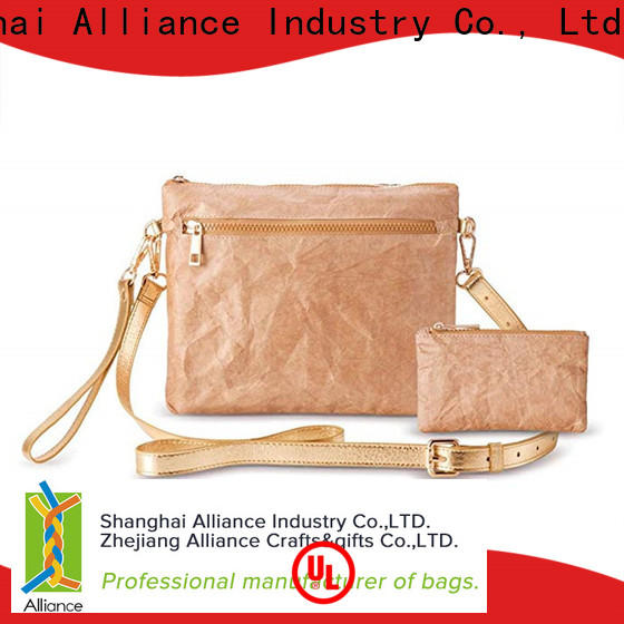 Alliance clutch bag factory for indoor