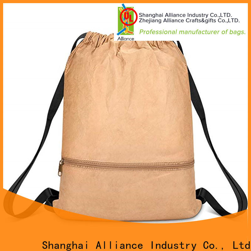Alliance cost-effective cotton drawstring bags inquire now for student