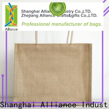 Alliance personalized tote bags customized for women
