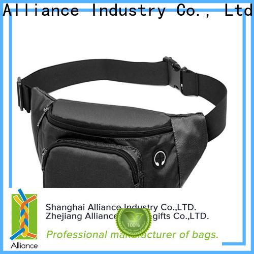 Alliance mens waist bag factory price for travel