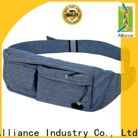 Alliance fishing mens waist bag supplier for gym