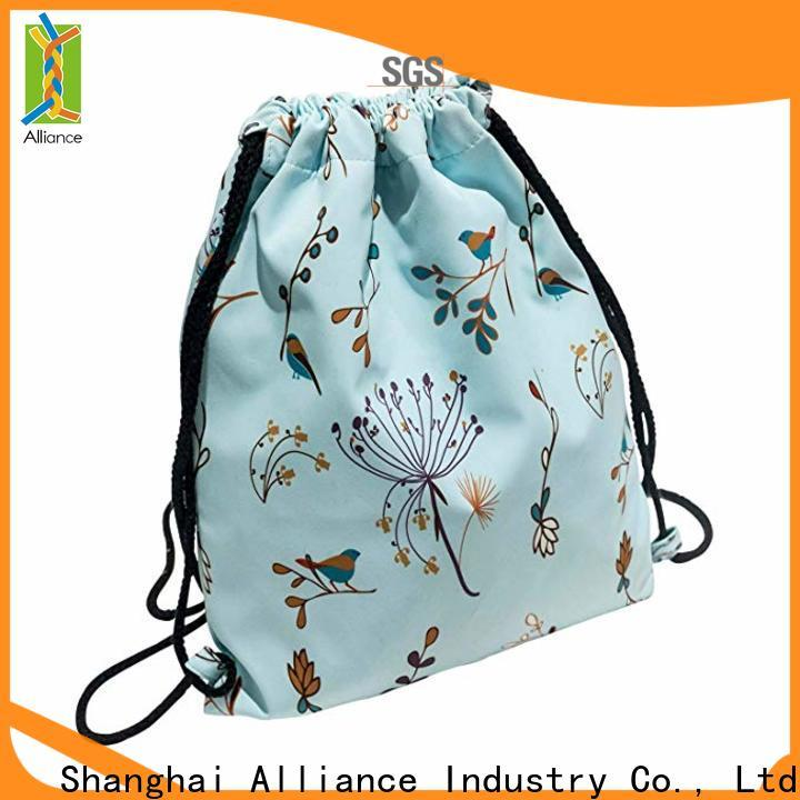 Alliance drawstring pouch with good price for girls