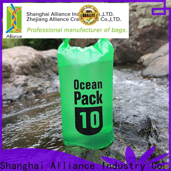Alliance dry bag backpack customized for beach