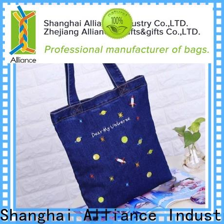 practical cotton tote bags manufacturer for shopping