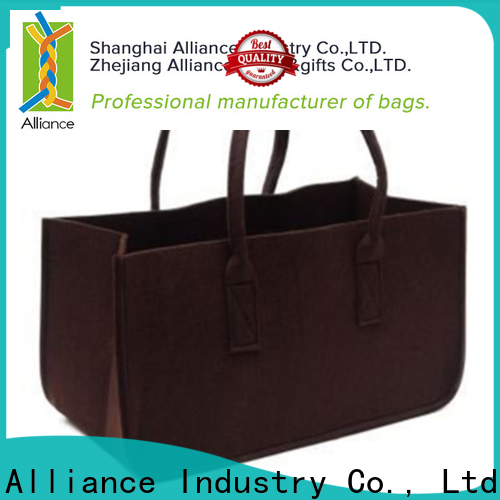 Alliance reusable canvas tote bags series for shopping