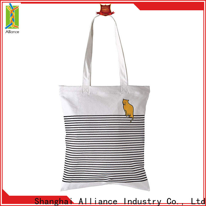 Alliance cotton bag manufacturer for books