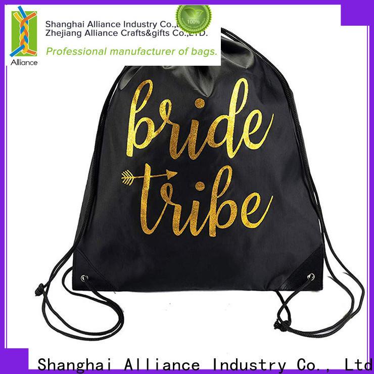 Alliance drawstring bags design for sport